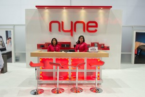 Nyne Trade Show Booth Las Vegas