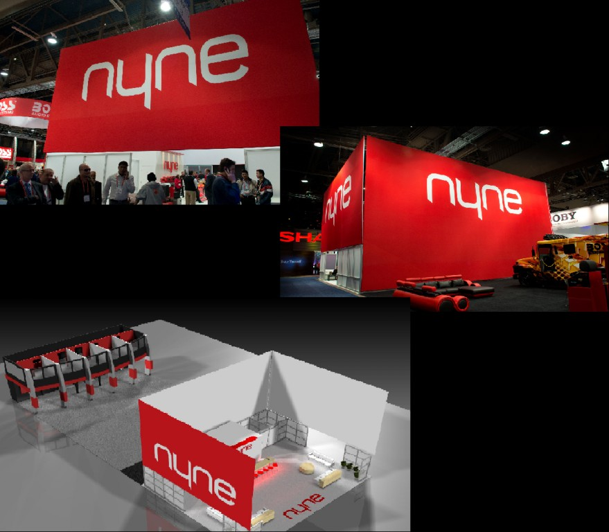 Nyne's Trade Show Booth Design for CES